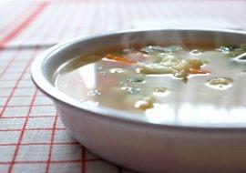 Wiosenna zupa kalafiorowa