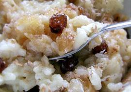 Ryż na mleku sojowym